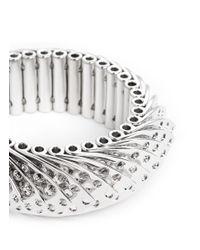 Eddie Borgo Metallic Aerator Bracelet