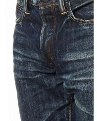 Mastercraft Union Blue Relaxed Tapered-Leg Jeans for men