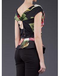 Vivienne Westwood Anglomania Multicolor Floral Top