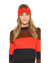 Rag & Bone - Red Alexis Headband - Lyst