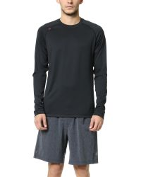 Rhone | Black Endurance Long Sleeve Active Tee for Men | Lyst