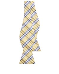 Brooks Brothers - Yellow Bb1 Plaid Bow Tie for Men - Lyst