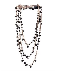 Rosantica By Michela Panero | Metallic Chimera Onyx Lava  Gold-plated Necklace | Lyst
