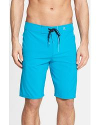 Hurley | Blue 'phantom - One & Only' Board Shorts for Men | Lyst
