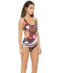 Clover Canyon - Multicolor Tribal Masks One Piece - Multi - Lyst