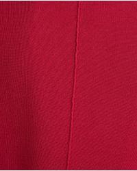 Zara | Red Draped Neck Cardigan | Lyst