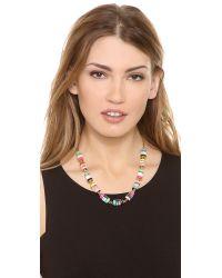 kate spade new york Multicolor Brighton Rock Short Necklace