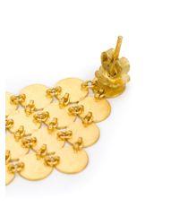 Marie-hélène De Taillac | Metallic 22kt Yellow Gold Chandelier Earrings | Lyst