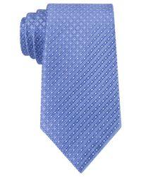 Michael Kors | Blue Michael Metropolitan Neat Tie for Men | Lyst