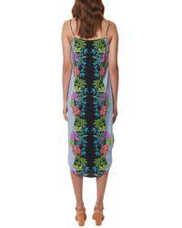 Mara Hoffman | Blue Button Front Dress | Lyst