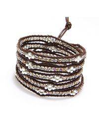 Nakamol | Multicolor Honeycomb Wrap Bracelet-smokey Quartz | Lyst
