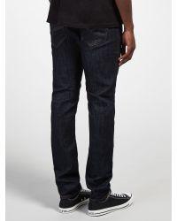 DIESEL Blue Tepphar Slim Jeans for men