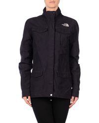 The North Face - Purple Jacket - Lyst