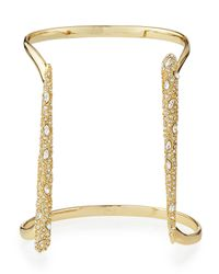 Alexis Bittar | Metallic Miss Havisham Parallel Crystal Cuff | Lyst