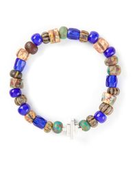 Luis Morais | Blue Bhupura Bracelet for Men | Lyst