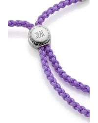 Monica Vinader - Purple Fiji Friendship Bracelet - Lyst
