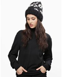Wool And The Gang | Black Beastly Boys Beanie | Lyst