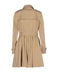 RED Valentino - Natural Full-Length Jacket - Lyst