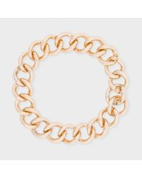 Paul Smith - Metallic Women's Chunky Gold Chain Necklace - Lyst