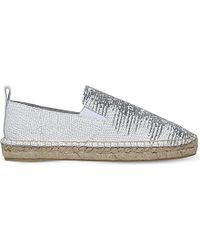 Vince - White Robin Leather Espadriles - Lyst
