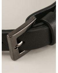 Valentino Black 'Rockstud' Bracelet
