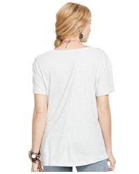Denim & Supply Ralph Lauren - White Eagle Graphic Tee - Lyst