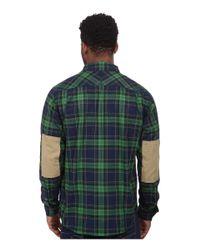Under Armour | Green Borderland Flannel for Men | Lyst