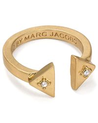 Marc By Marc Jacobs - Metallic Open Ring - Lyst