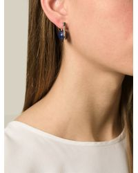 Uribe - 'Camille' Blue Lapis Earrings - Lyst