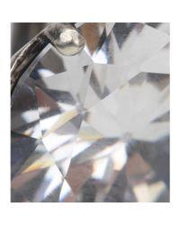 Bottega Veneta - Metallic Crystal Earrings - Lyst