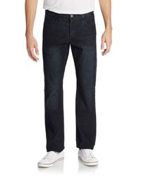 Hudson Jeans | Blue Byron Straight-leg Corduroy Jeans for Men | Lyst