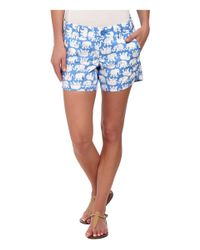 Lilly Pulitzer | Blue Callahan Short | Lyst
