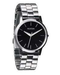 Nixon Metallic 'the Small Kensington' Bracelet Watch
