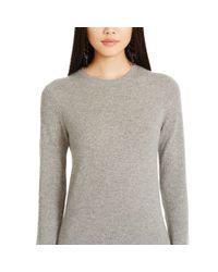 Polo Ralph Lauren | Gray Cashmere Sweater Dress | Lyst