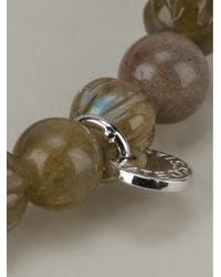 Tateossian - Green Labradorite Bracelet - Lyst