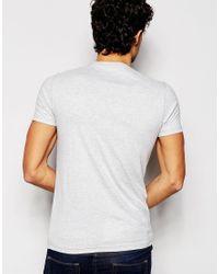 Hilfiger Denim | Gray T-shirt With Logo Print In Grey for Men | Lyst