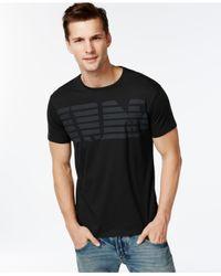 Armani Jeans | Black Eagle Logo T-shirt for Men | Lyst