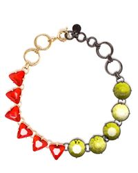 Valentina Brugnatelli | Red Milena Swarovski Necklace | Lyst