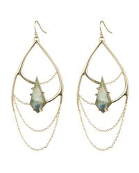 Alexis Bittar | Metallic Kinetic Gold Draping Chain Earring You Might Also Like | Lyst