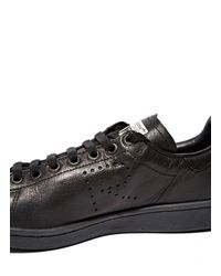 Raf Simons - Black Aged Stan Smith Sneakers for Men - Lyst