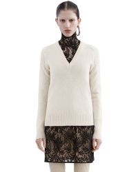 Acne Studios - Natural Panya Shet Cream White - Lyst