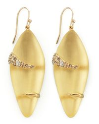 Alexis Bittar - Metallic Durban Small Lucite Earrings - Lyst