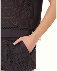 Fendi | Metallic The Sta Bracelet The Sta Bracelet | Lyst
