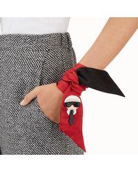 Fendi - Black Karlito Wrappy Karlito Wrappy - Lyst
