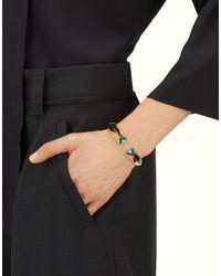 Fendi - Blue Rainbow Bracelet - Lyst