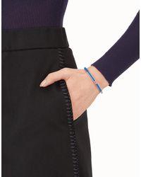 Fendi - Blue Baguette Bracelet - Lyst