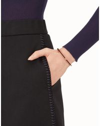 Fendi - Brown Baguette Bracelet - Lyst