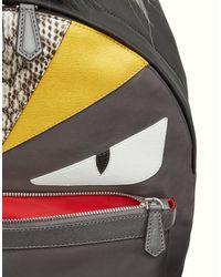 Fendi - Gray Backpack for Men - Lyst