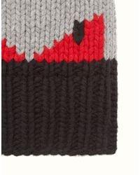 Fendi - Black Hat Hat for Men - Lyst