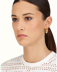 Fendi - Multicolor Match Me Earrings - Lyst
